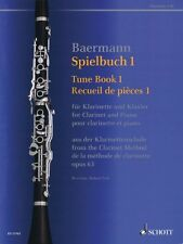 Tune Book 1 Op. 63 Concert Pieces from the Clarinet Method - Clarinet 049045056