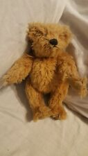 "Authentic Teddy Bear 2002 Morris Michtom Bear 8"" Tall - Jointed"