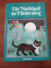 E166) KINDERBUCH DIE NACHTIGALL IM FLIEDER NIEST LILO FROMM ELLERMANN EA 1980