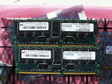 Crucial 256 Mo DDR SDRAM 266 MHz CL2.5 ECC Reg CT3272Y265.18T MT 18 VDDT 3272DG-265Z1