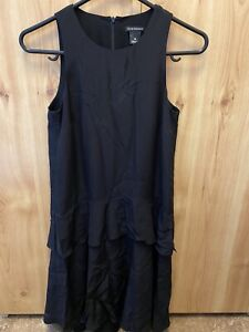 Club Monaco Black Silk Dress Size 6