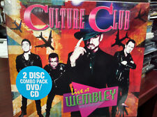 CULTURE CLUB Live at Wembley 2016 CD/DVD Boy George Church of the Poison Mind