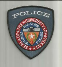 Campus SEAL OF THE UNIVERSITY OF TEXAS ☆ POLICE ☆ SHIELD PATCH