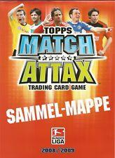 Topps Match Attax 2008/2009 Limitierte Karten