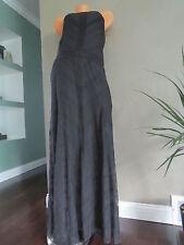 NEW $148 Victoria's Secret!!BERY SEXY BLACK Maxi Dress SZ:0=XS
