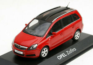 Minichamps Opel Zafira B - Modell Bj. 2005-2008, M.1 : 43, Red, New And Boxed