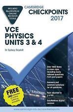 Cambridge Checkpoints VCE Physics Units 3 and 4 2017