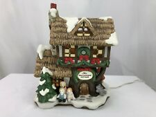 Fitz & Floyd Dollmakers' Cottage - Enchanted Forest Collection - Holiday Hamlet