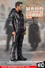 SUPERMCToys 1/6 Wolverine Nano Combat Suit Sets F-080 For 12'' Acton Figure Toys