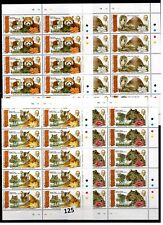 // 10X TONGA - MNH - GANDHI - INDIA - LOTUS - WILD ANIMALS