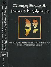 Diana Brown & Barrie K Sharpe The Black The White .. CASSETTE ALBUM Acid Jazz