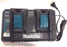 Original Makita DC18RD Twin Charger 7.2-18V Lithium Battery Carger 220V