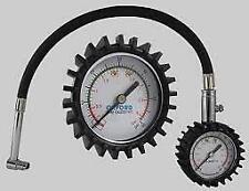 Oxford Tyre Pressure Gauge 0 - 60 PSI Pressure Bleed Valve Dial Type