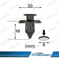 20 For Nissan Mitsubishi Bumper Bar Wheelarch Console Plastic Trim Clip Fastener