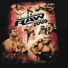 Best of WWE RAW 2009 NEW T-Shirt Men's Extra Large Wrestling NXT ROH XL DX TNA