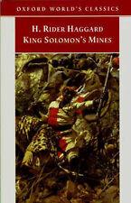 King Solomon's Mines (Oxford World's Classics), Haggard, H. Rider, New Book