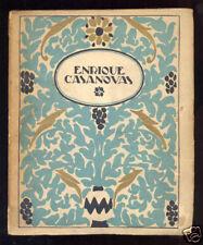ARTE ESPAÑOL - Enrique Casanovas - Ilustraciones