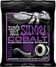 Ernie Ball 2720 COBALT POWER Slinky Electric Guitar Strings Free Shipping in US!