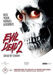 Evil Dead 2 : Dead By Dawn : BRAND NEW DVD R4 Australian Format DVD