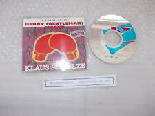 CD Rock Klaus Schulze - Conquest Of Paradise (2 Song) ZYX Henry Maske Boxing