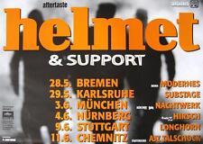 "HELMET TOUR POSTER / KONZERTPLAKAT ""AFTERTASTE TOUR"""