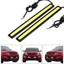 2pcs Waterproof White Super Bright COB LED Light-DRL Lamp For Dome+License Plate