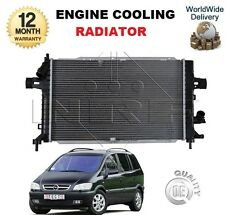 FOR OPEL ZAFIRA A F75 1.8 16v 2002-2005 ENGINE COOLING RADIATOR