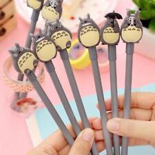 1pc Anime My Neighbour Totoro schwarz Tinte Gel Kugelschreiber Stift Neu