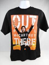 Paul McCartney 2014 Out There US Tour T-shirt Black & Orange Men's Size Large