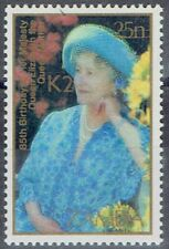 Zambia 1991 Surcharge 2k on 25n Queen Mother very fine unhinged mint