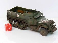 28mm Bolt Action Chain Of Command US M3A1 Halftrack - Painted & Weathered  (R3)