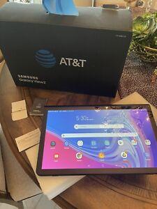Samsung Galaxy View2 (2019) 64GB, Wi-Fi + Cellular (AT&T), 17.3in - Dark Gray