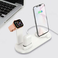 3 en 1 Chargeur Station Dock Stand Pour Apple Watch iPhone Fast Charging Wire DE