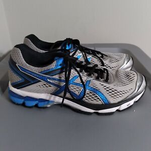 Asics GT-1000 Men's Size 9 Running Shoes Gray/Blue Athletic Low Top Sneakers