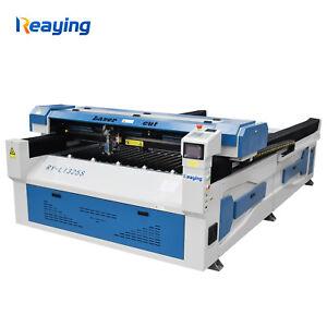150W W8 RECI 1300*2500mm Metal CO2 laser cutting machine SS CS laser cutter