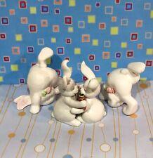 New ListingVintage Fitz Floyd Rabbit Bunny Salt Pepper Shakers -Tumbling Bunnies 1979 Japan