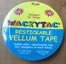 WackyTac Restickable Vellum Tape 36yds