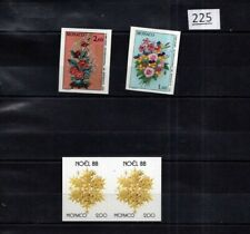 # MONACO - MNH - IMPERF - FLOWERS - FLORA - NOEL