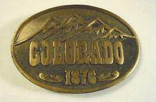 1975 Adezy Colorado Centennial Belt Buckle