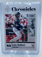2020 Panini Chronicles Luis Robert RC #38 Chicago White Sox🔥 NM PSA RARE