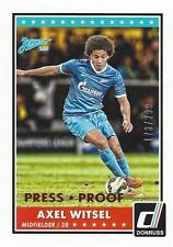 2015 Donruss Soccer Base Parallel Axel Witsel Bronze Press Proof 173/299 Zenit