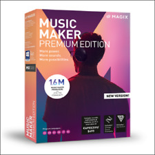 Music Maker Premium Edition from MAGIX. New Version 2018