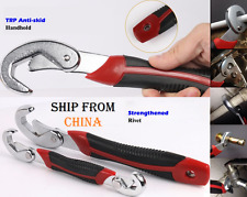 Universal Adjustable Wrench Allen Technology Snap & Grip Spanner ratchet key cle