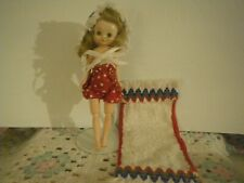 """No Doll,Vintage 1958, 8"""" Betsy McCall """"Sun 'n Sand"""" Outfit, No Sandals,3 Pcs"""