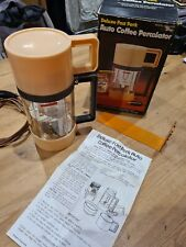More details for vintage retro coffee percolator 12v for use in car or camper van.