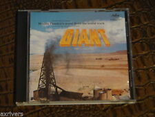 Rare GIANT Soundtrack CD Dimitri Tiomkin ELIZABETH TAYLOR JAMES DEAN ROCK HUDSON