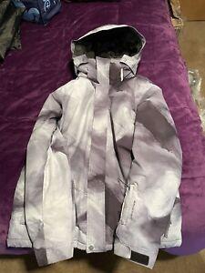 Quicksilver Travis Rice Snowboard Ski 10k Dry Flight Jacket Men's XL Gray/black