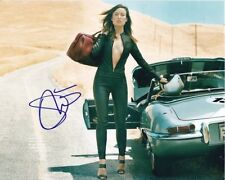Olivia Wilde Signed Autographed 8x10 Sexy Race Car Photograph