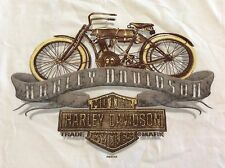 Harley Davidson Sleeveless Shirt Tank Size Medium Manatee River Bradenton FL