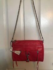 REBECCA MINKOFF Mac Large Crossbody Clutch Bag Hangbag - Poppy Red $295 NWT